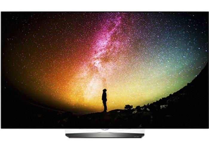 vista frontale Smart tv