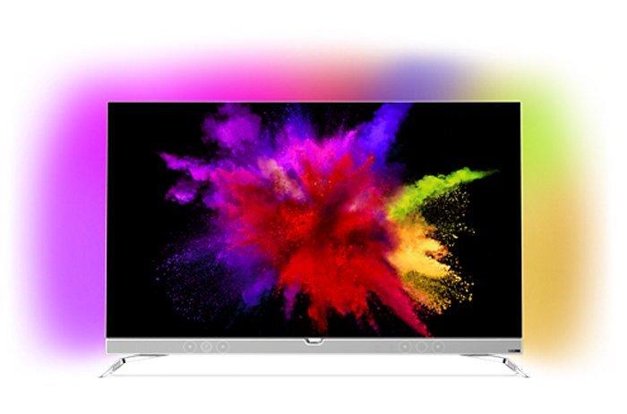esplosione di colori da schermo tv