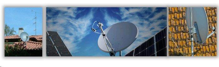 antenne televisive sui tetti