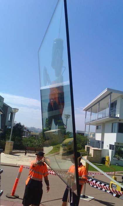 glass installtion