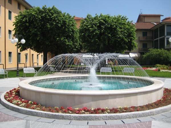 Fonte di marmo bianco per piazza pubblica