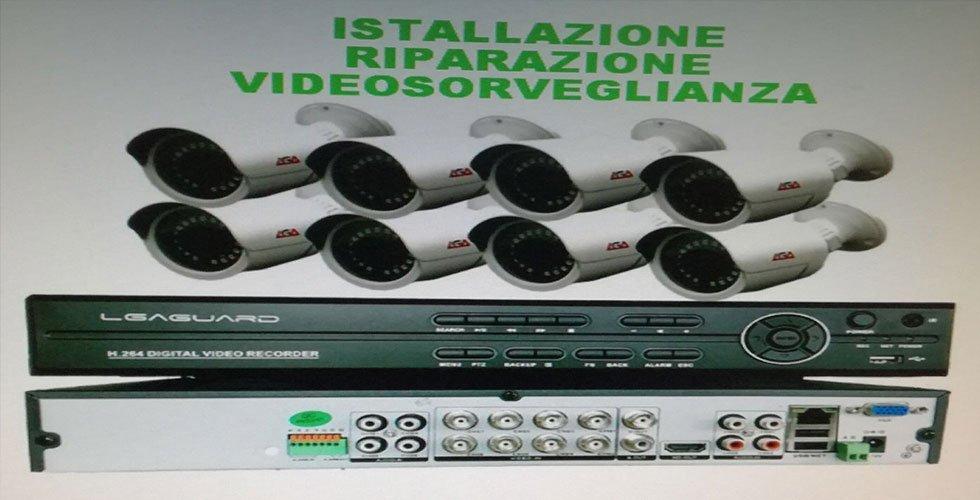 installazione e riparazione video camere