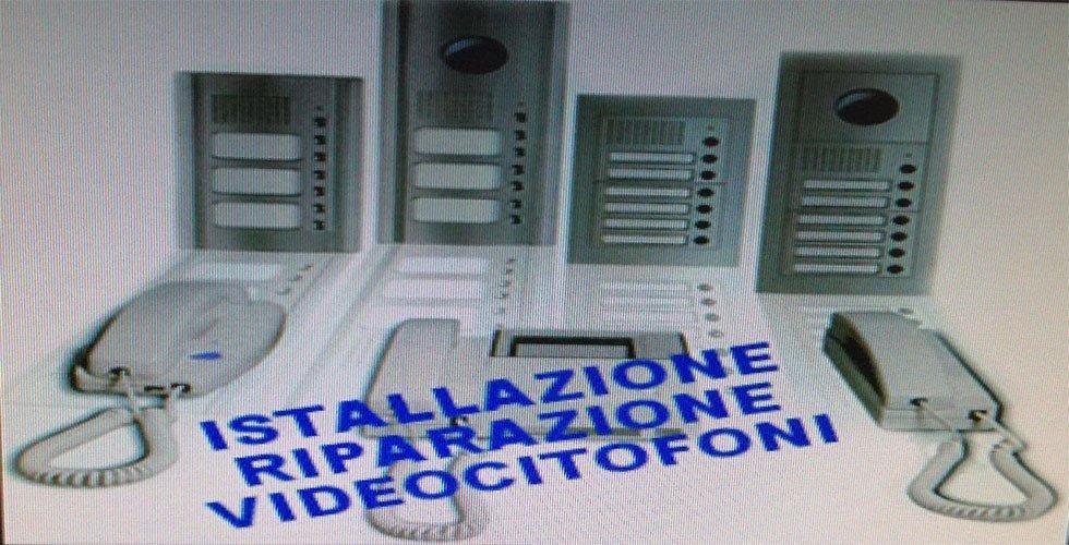 installazione riparazione video citofoni