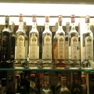 Bottiglie di grappa