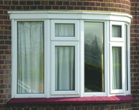 uPVC windows - Southampton, Hampshire - The Fascia Company - Bay Window