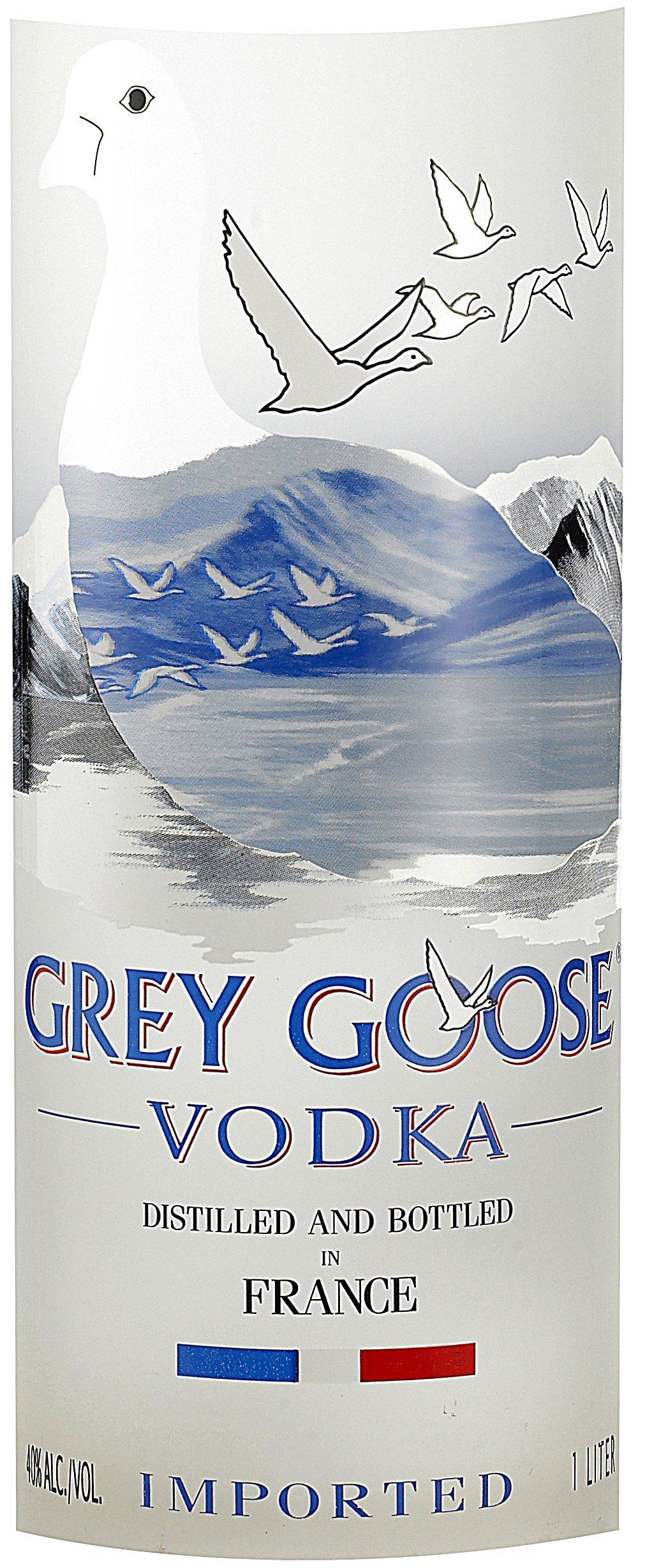 bottiglia vodka Grey Goose