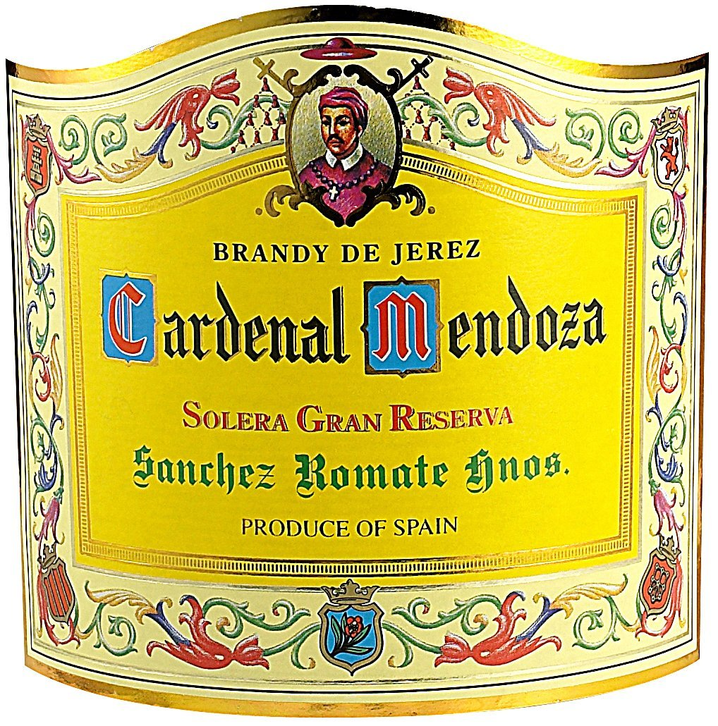 Etichetta bottiglia Cardenal Mendoza