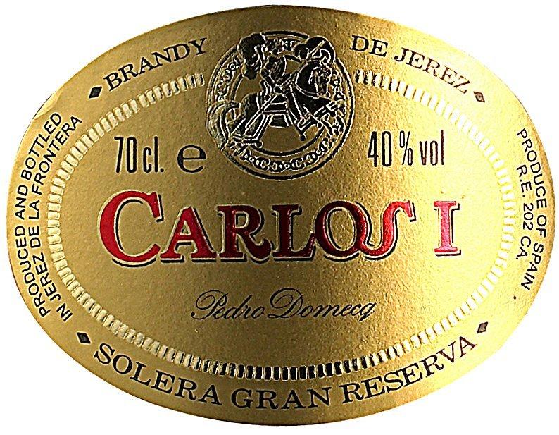 Etichetta bottiglia Carlosi