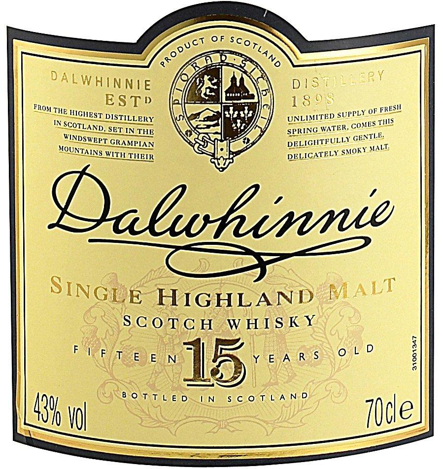 Etichetta bottiglia Whiskey