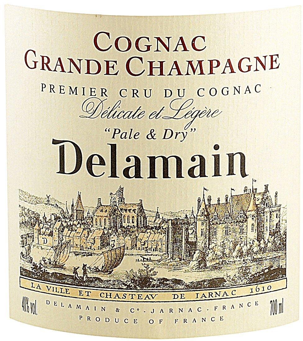 Etichetta bottiglia Delamain