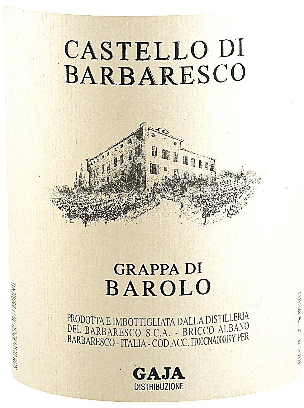 Etichetta bottiglia Castello di Brbaresco