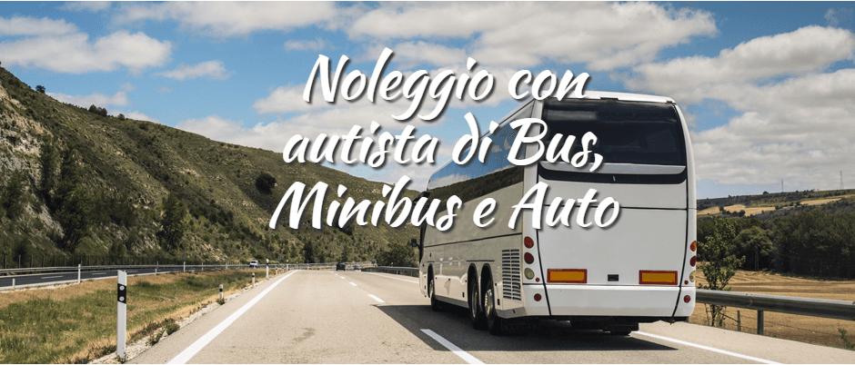 Noleggio con autista di Bus, Minibus e Auto