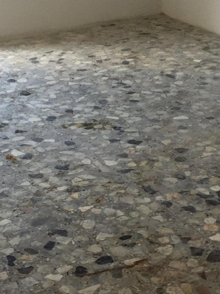 pavimento prima del trattamento