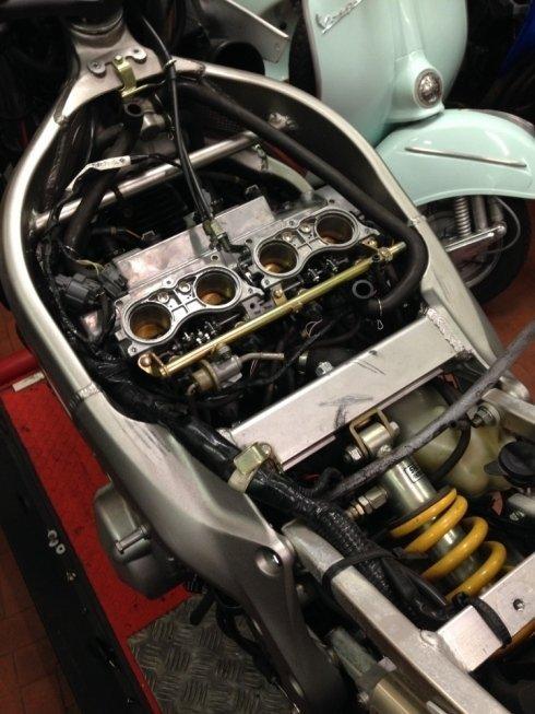 riparazione moto