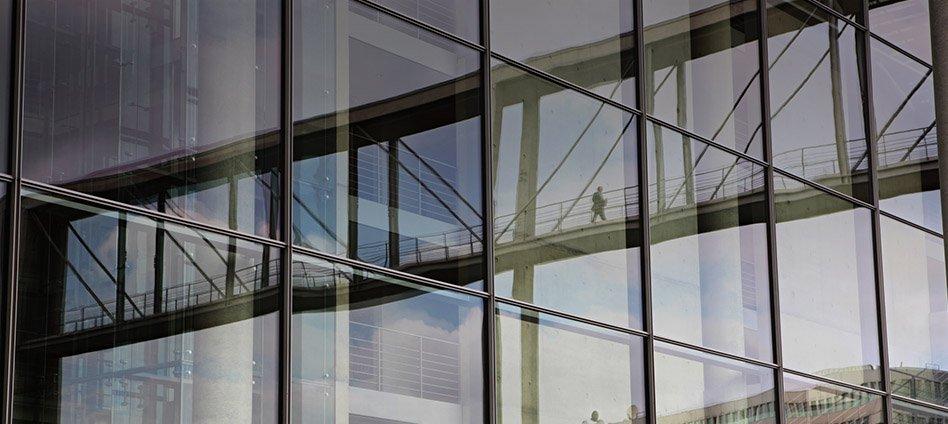 facciate continue alluminio/vetro