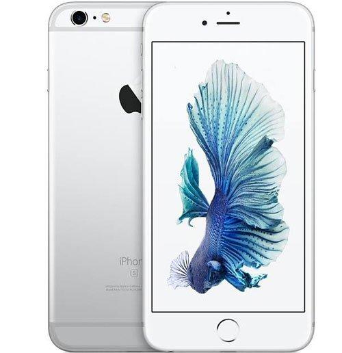 un iPhone di colore bianco si vede la parte anteriore e posteriore