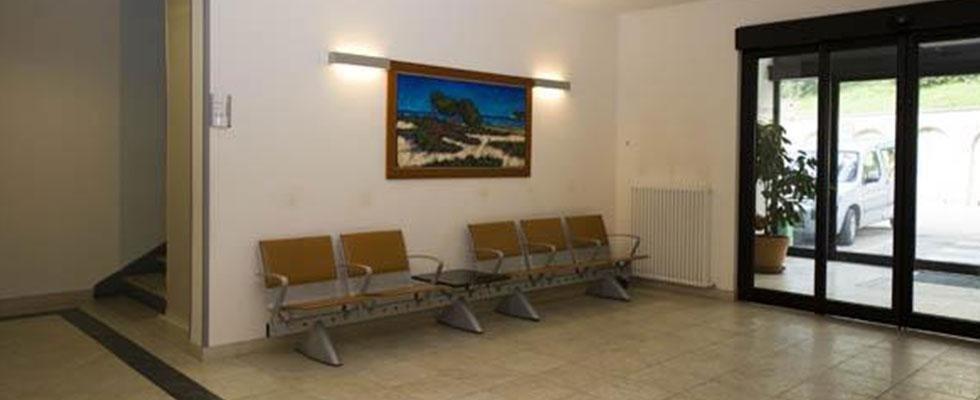 sala d'attesa casa di cura