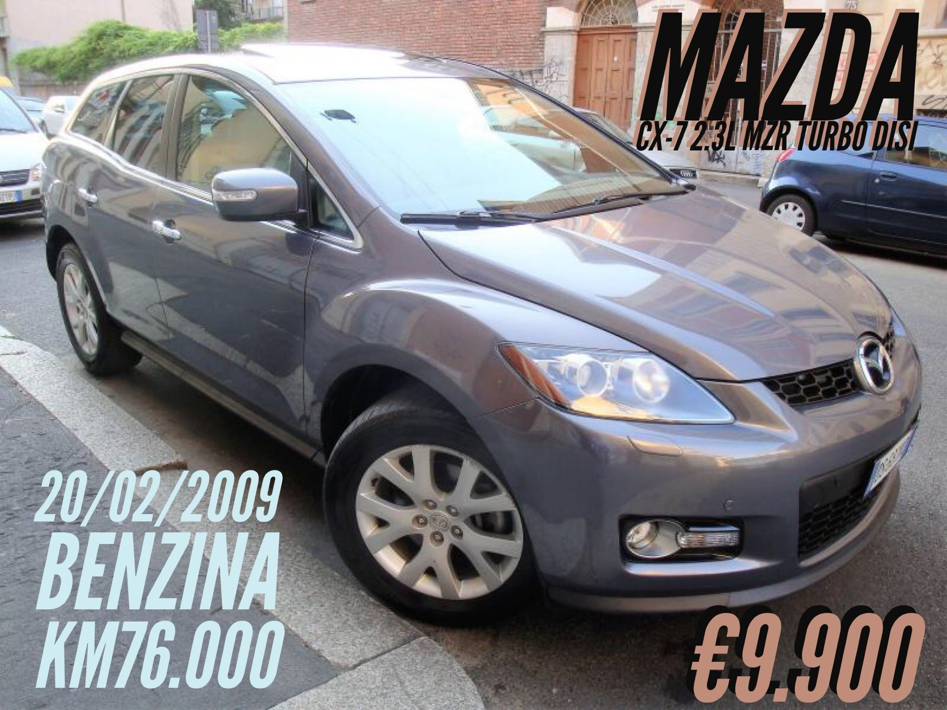 Mazda  CX-7 2.3L MZR Turbo DISI