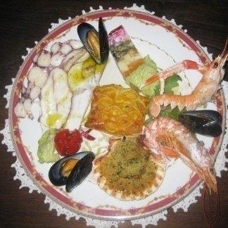 portata pesce grigliato