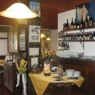 Ristorante con vini tipici genovesi