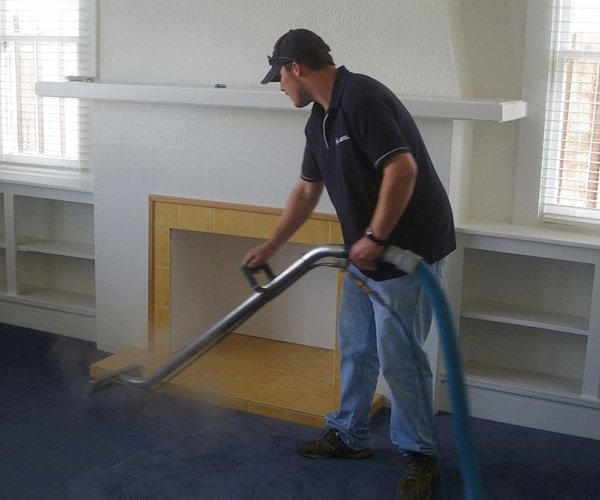 A man providing professional cleaning services near Launceston