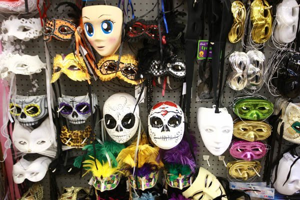 MASKS AND WIGS