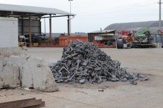 gestione rottami metallici