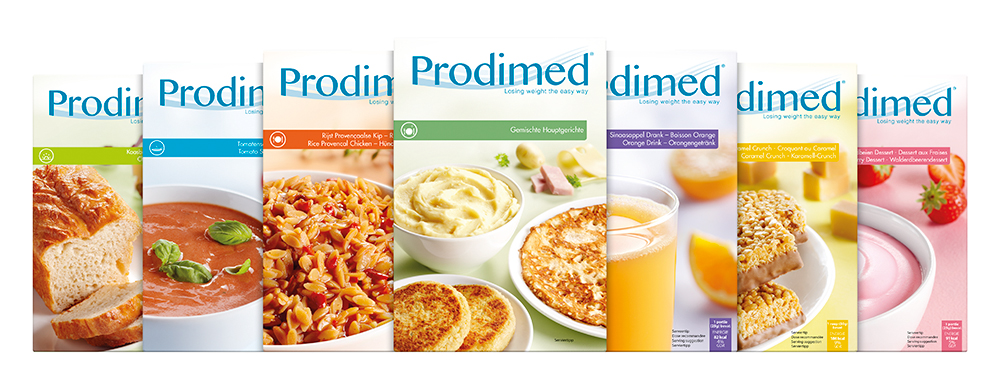 Afvallen met eiwitdieet Prodimed