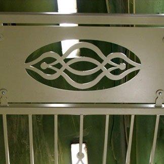realizzazione decorazione cancello su disegno cliente