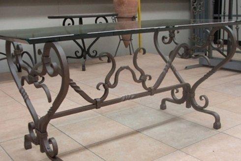 realizzazione tavolo in ferro