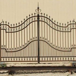 cancello per passo carrabile