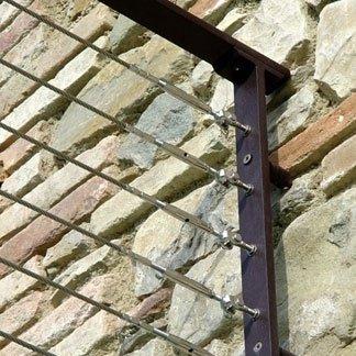 particolare ringhiera per balconata