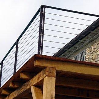 progettazione ringhiera per balconata