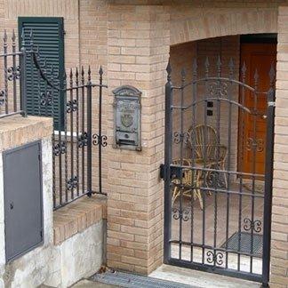 opere in ferro per esterno edifici