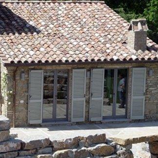 serramenti abitazione rustica