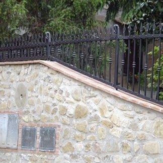 decorazione recinzioni in ferro battuto