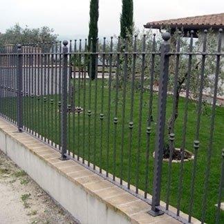installazione recinzione perimetrale ferro battuto