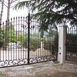 punte anti intrusione per cancello