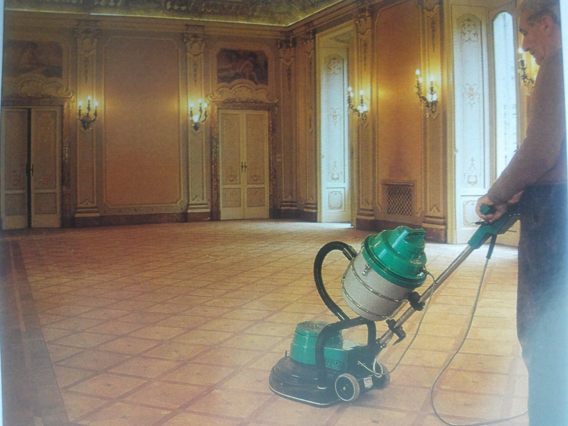 pulizia pavimenti pvc