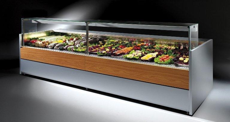 Banconi refrigerati arezzo duearreda arredamento negozi for Arredamento arezzo