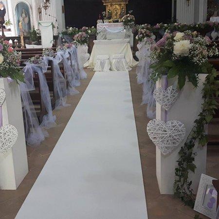 Allestimenti floreali per un matrimonio