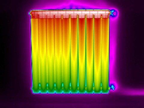 termografia termosifoni