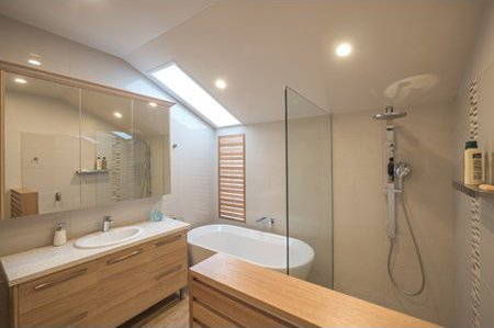 wd bryan joinery house modern new bathroom