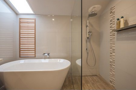 wd bryan joinery house new bathroom shower