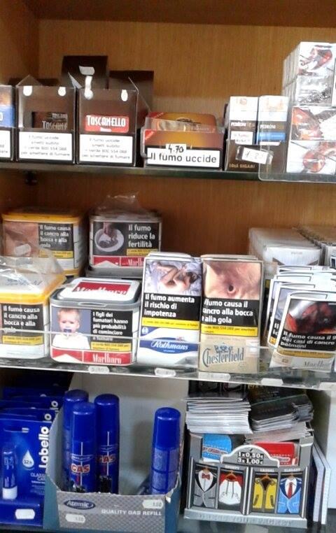 Confezioni di tabacco