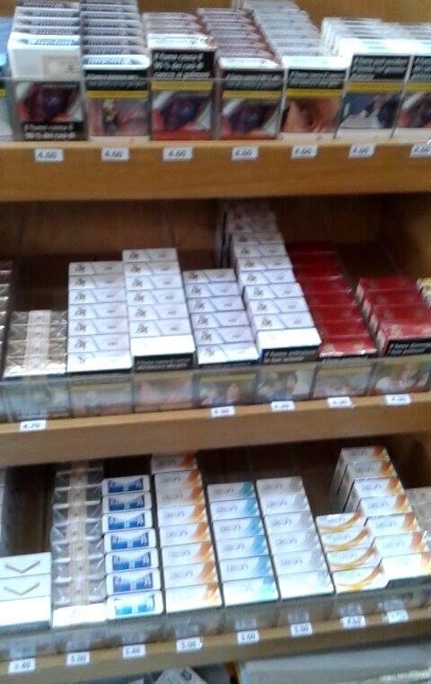 Pacchetti di sigarette