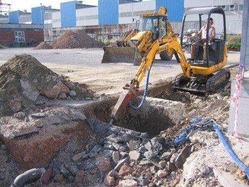 demolizione fossa biologica