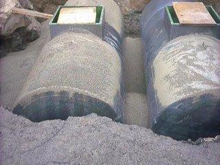 Bonifiche,cisterna acqua gasolio