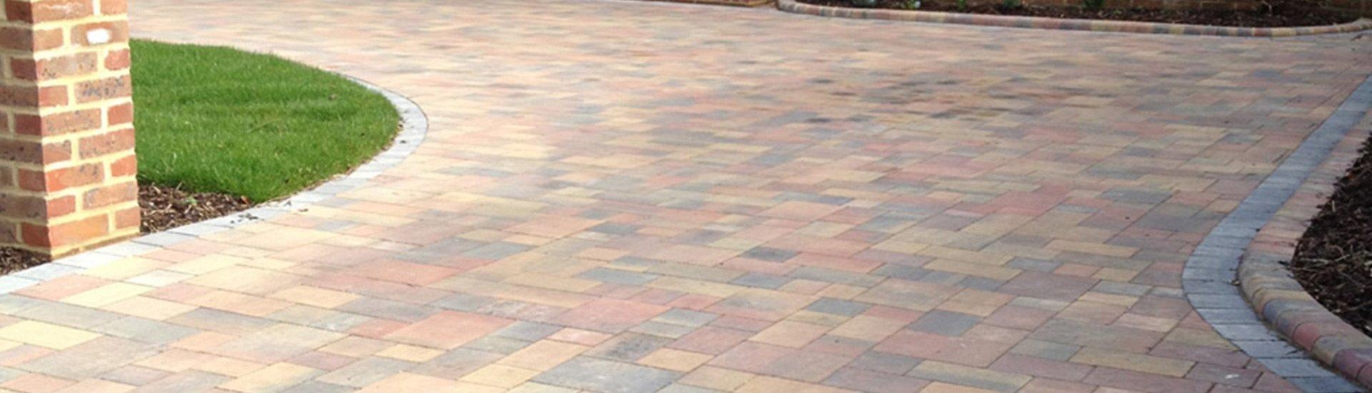 coloured tiles laid