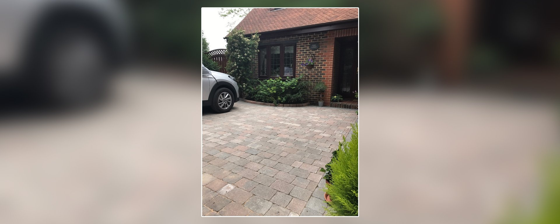 paved outdoor space